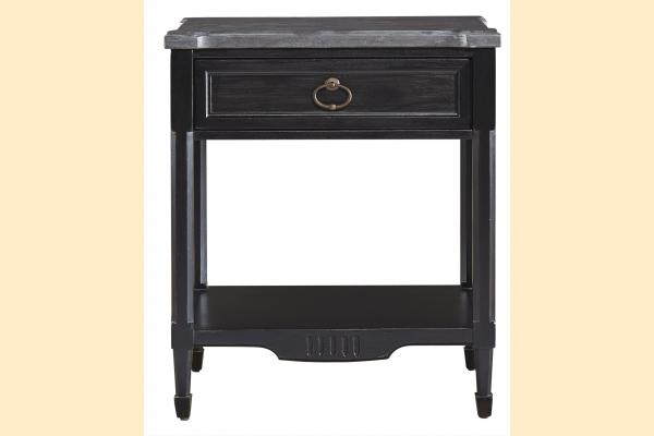Universal Furniture Authenticity Authenticity Bedside Table-Black Denim