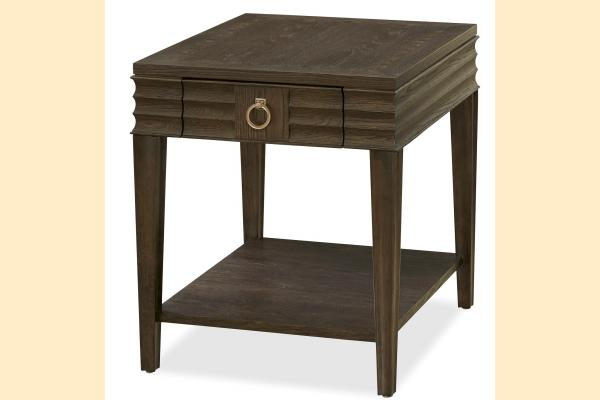 Universal Furniture California Hollywood Hills Drawer End Table
