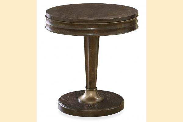 Universal Furniture California Hollywood Hills Round End Table