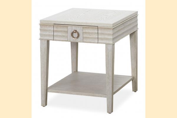 Universal Furniture California Malibu Drawer End Table