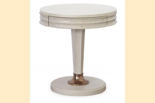 Universal Furniture California Malibu Round End Table