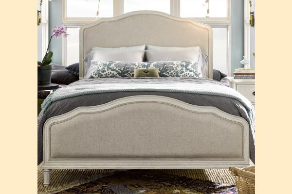Universal Furniture Curated-Cotton Amity Upholstered Queen Bed