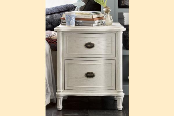 Universal Furniture Curated-Cotton Amity Nightstand