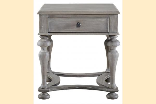 Universal Furniture Curated- Greystone Andover End Table
