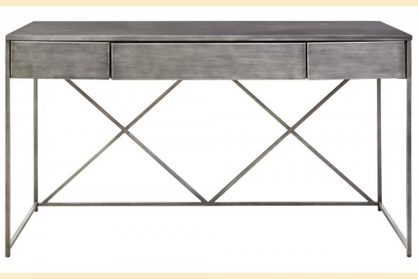 Universal Furniture Curated- Greystone Pembroke Desk