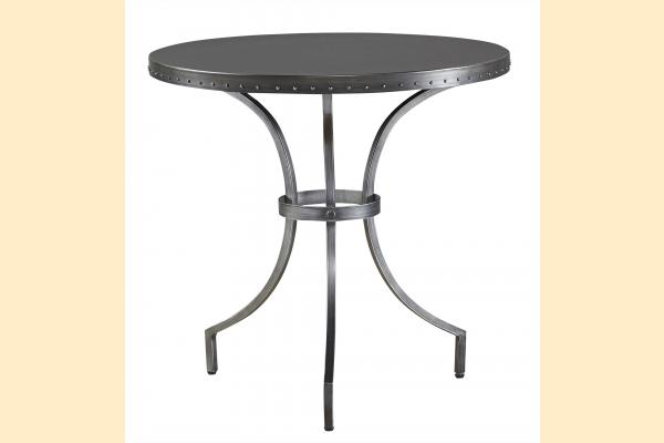 Universal Furniture Curated- Greystone Eliston Round End Table