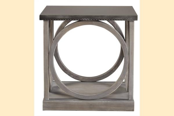 Universal Furniture Curated- Greystone Carlton End Table