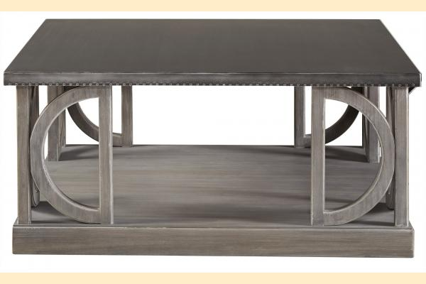 Universal Furniture Curated- Greystone Carlton Cocktail Table