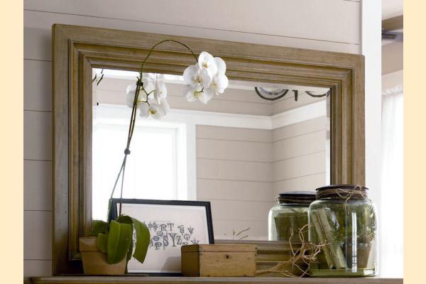 Paula Deen Down Home-Oatmeal Landscape Mirror