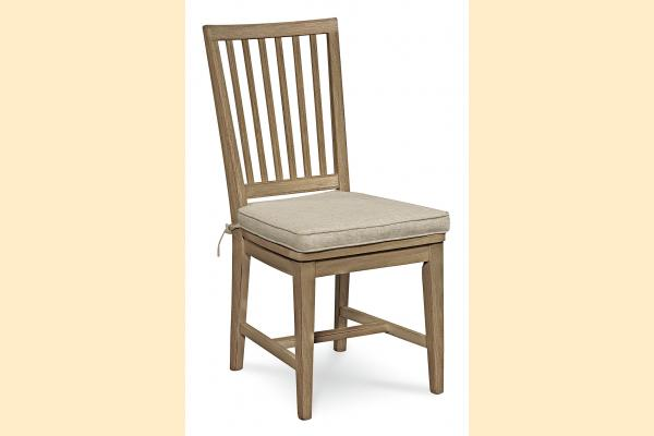Universal Furniture Great Rooms Dining Terrace Gray Side Chair