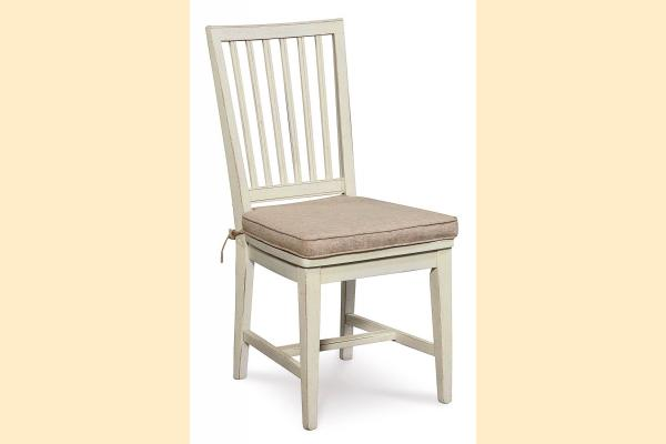 Universal Furniture Great Rooms Dining Washed Linen Side Chair