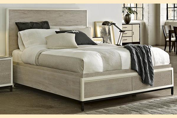 Universal Furniture Great Rooms Spencer Queen Storage Bed
