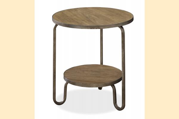 Universal Furniture Modern Muse Round End Table