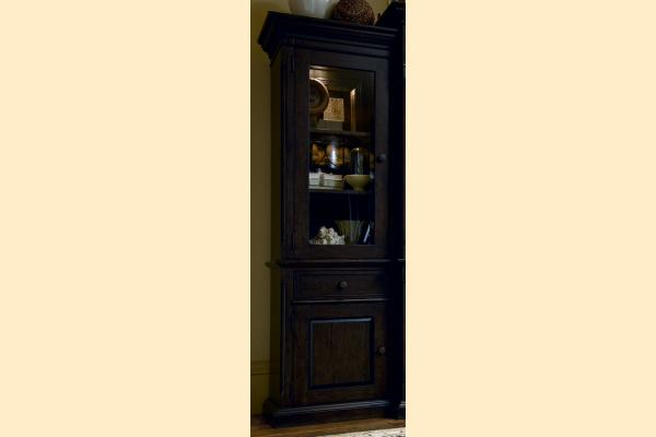 Paula Deen Down Home-Molasses Left Bookcase