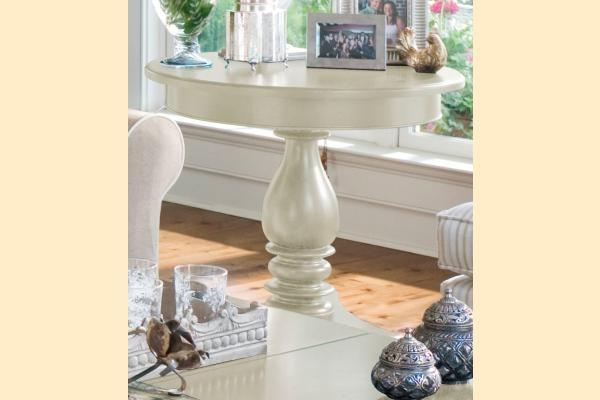 Paula Deen Linen Round Side Table