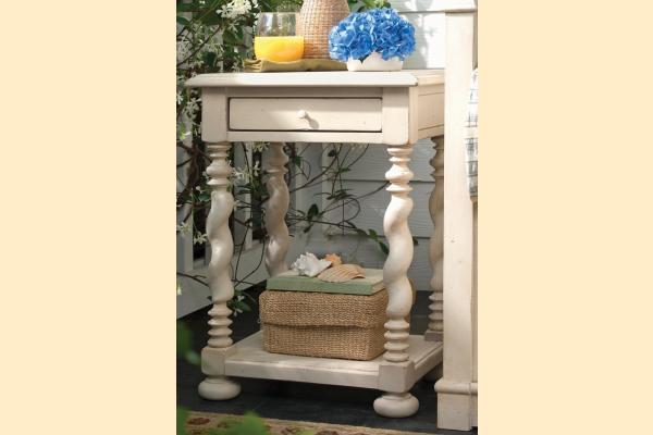 Paula Deen Linen Sweet Tea Side Table