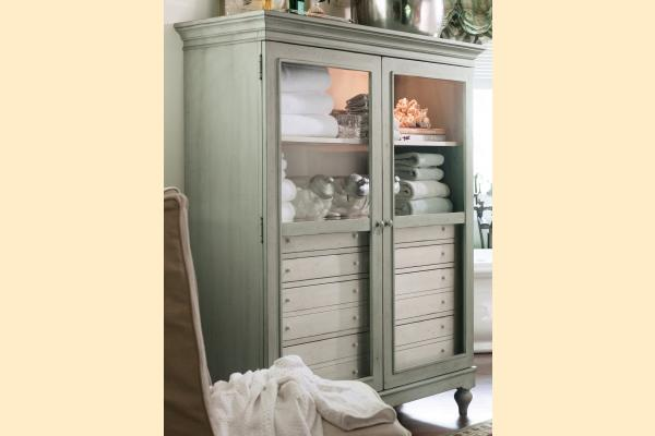 Paula Deen Spanish Moss The Bag Lady's Cabinet