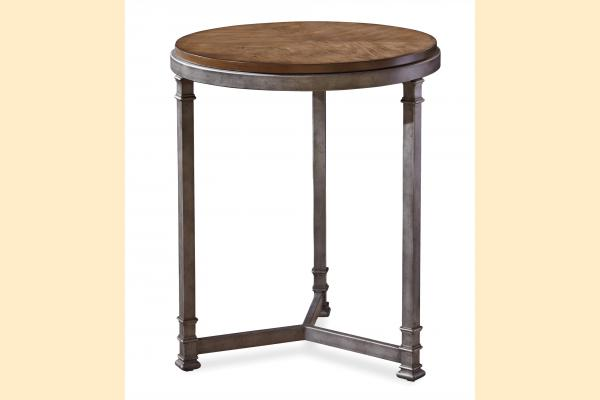 Universal Furniture Remix Round Chair Side Table