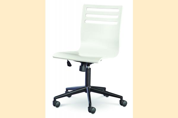 SmartStuff SmartStuff Classic 4.0 Summer White Swivel Desk Chair
