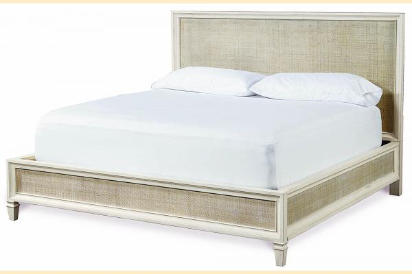 Universal Furniture Summer Hill-Cotton King Woven Accent Bed