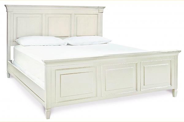 Universal Furniture Summer Hill-Cotton King Panel Bed