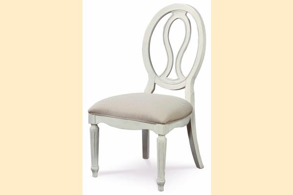 Universal Furniture Summer Hill-Cotton Pierced Back Side Chair