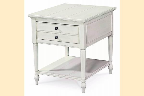 Universal Furniture Summer Hill-Cotton End Table