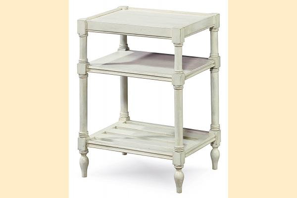 Universal Furniture Summer Hill-Cotton Chair Side Table