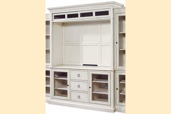 Universal Furniture Summer Hill-Cotton Entertainment Console & Deck