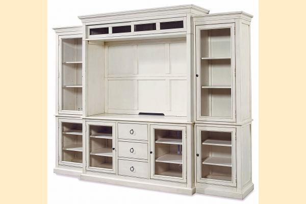Universal Furniture Summer Hill-Cotton Complete Home Entertainment System