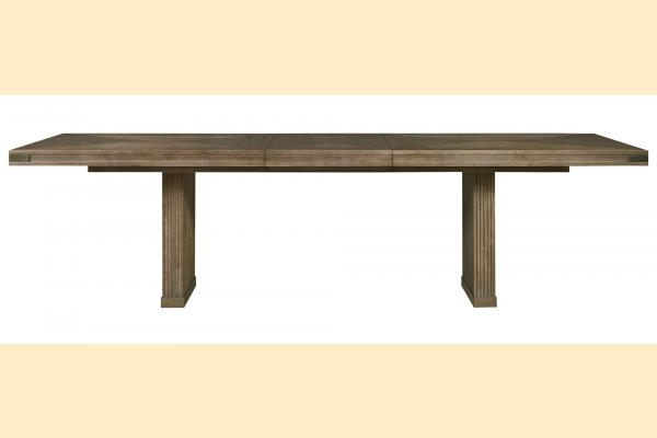 Universal Furniture Synchronicity Rectangular Dining Table w/ One 22 Inch Leaf