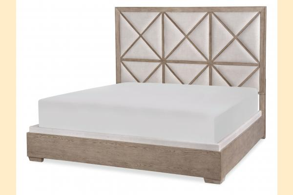 Legacy Bridgewater Cal-King Upholstered Bed