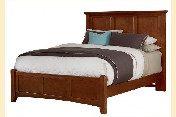 Vaughan Bassett Bonanza-Cherry Cal-King Mansion Bed