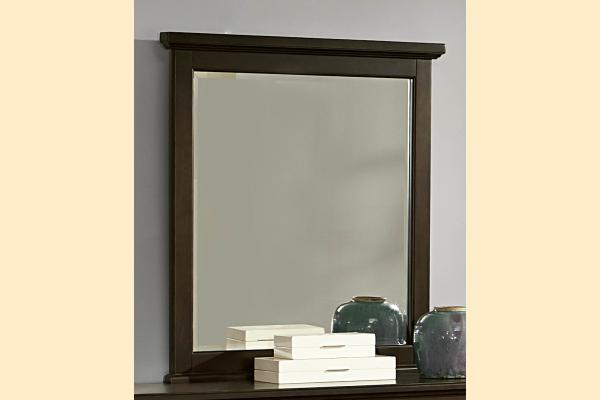 Vaughan Bassett Bonanza-Merlot Small Landscape Mirror