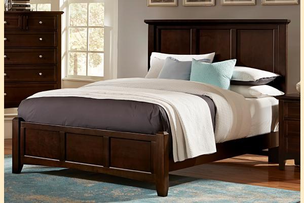 Virginia House Ponderosa-Merlot Queen Mansion Bed