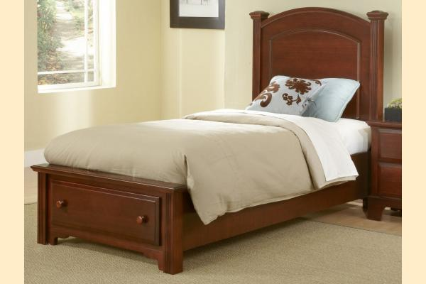 Vaughan Bassett Franklin Twin Panel Storage Bed