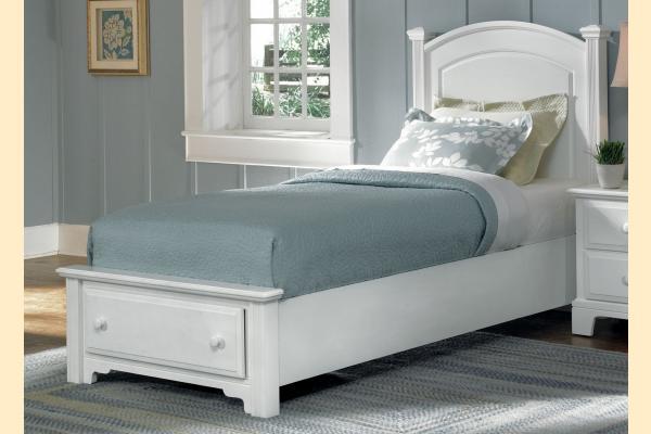Vaughan Bassett Franklin-Snow White Twin Panel Storage Bed