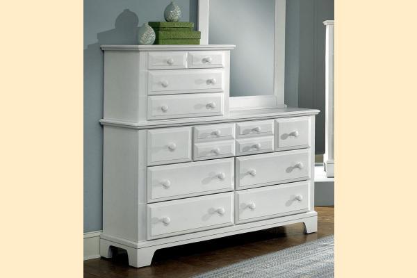 Vaughan Bassett Franklin-Snow White Vanity Dresser