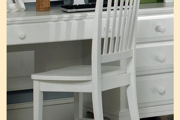 Vaughan Bassett Franklin-Snow White Desk Chair