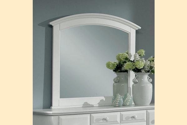 Vaughan Bassett Franklin-Snow White Landscape Mirror