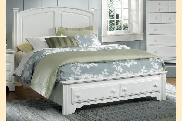 Vaughan Bassett Franklin-Snow White Full Panel Storage Bed