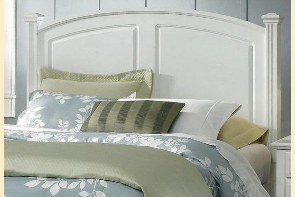 Vaughan Bassett Franklin-Snow White Cal-King Panel Headboard/Bed Frame