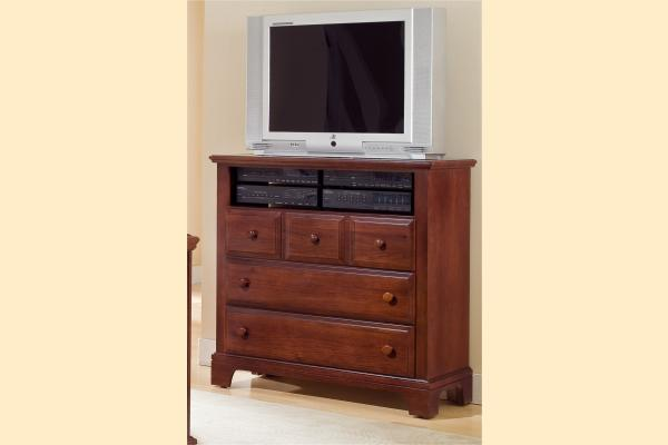 Vaughan Bassett Franklin Media Cabinet