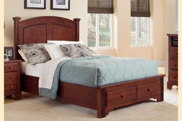 Vaughan Bassett Franklin Full Panel Storage Bed