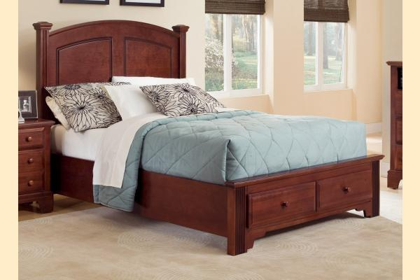 Vaughan Bassett Franklin Queen Panel Storage Bed