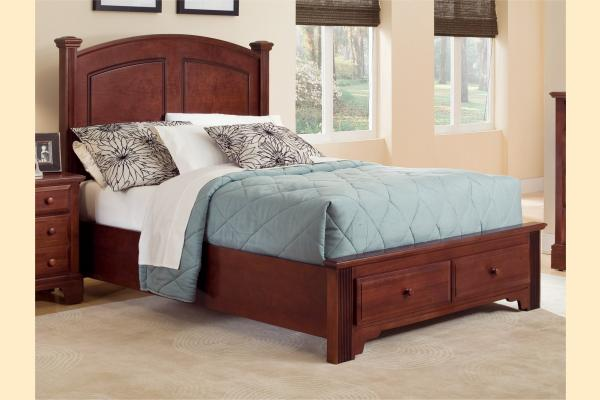 Vaughan Bassett Franklin King Panel Storage Bed