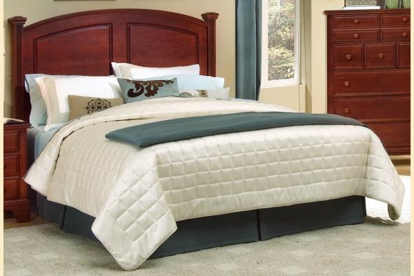 Vaughan Bassett Franklin Cal King Panel Headboard/Bed Frame