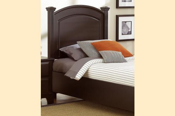 Virginia House Delano-Merlot Twin Headboard/Bed Frame