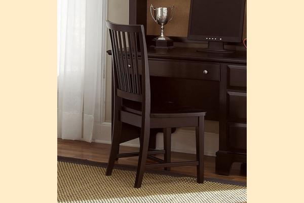 Virginia House Delano-Merlot Wood Desk Chair