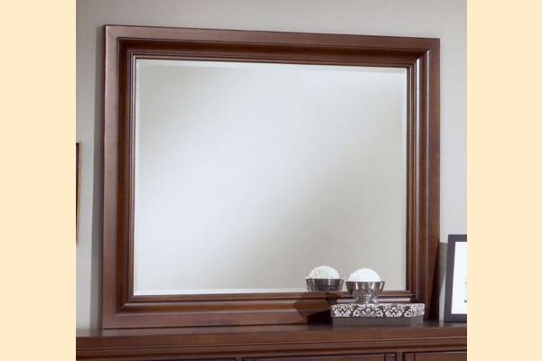 Vaughan Bassett Reflections-Dark Cherry Landscape Mirror